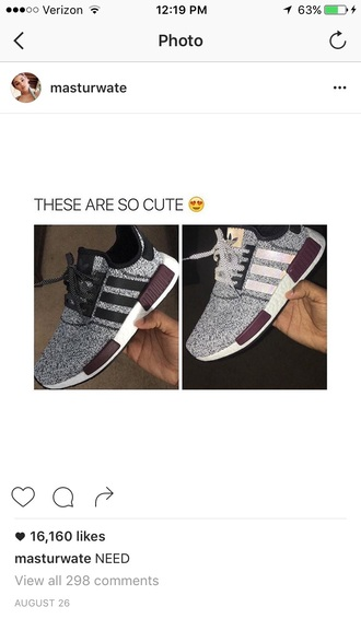 shoes adidas adidas nmd sneakers