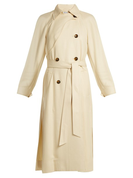 Elizabeth and James coat trench coat cream