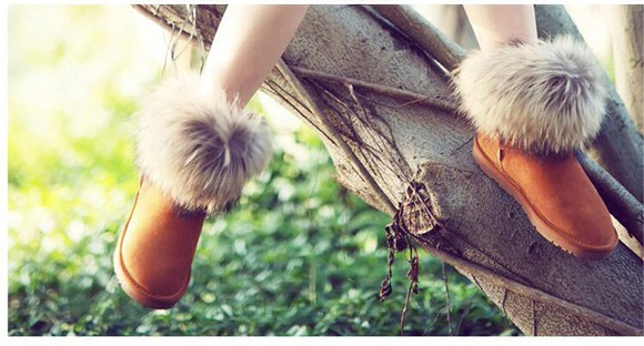 fur faux fur shoes ugg boots stiefel winter boots