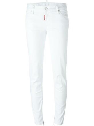 jeans white