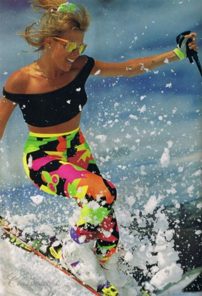 bright neon pants clothes spring