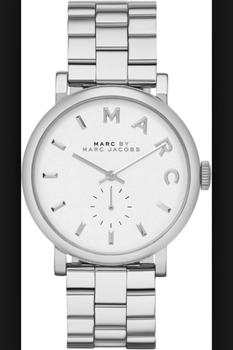 jewels marc jacobs watch silver