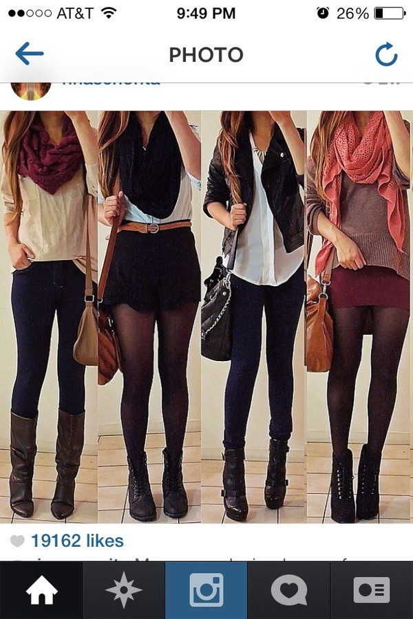 shorts dress sweater shoes skirt jeans shirt bag belt coat jacket perfecto scarf blouse cardigan fall outfits fall sweater fall boots fall trend fall 2014 fall scarves fall style fall outfits fall outfits boots button up light top leggings pullover