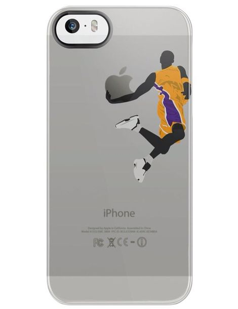 Bag: phone cover, basketball, lakers, iphone 5 case - Wheretoget