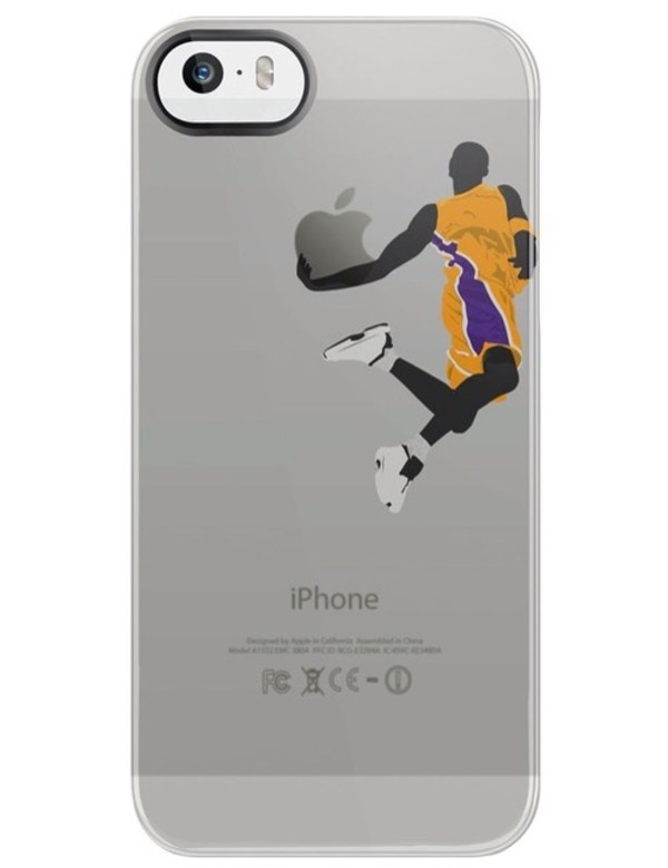 bag phone cover basketball lakers iphone 5 case
