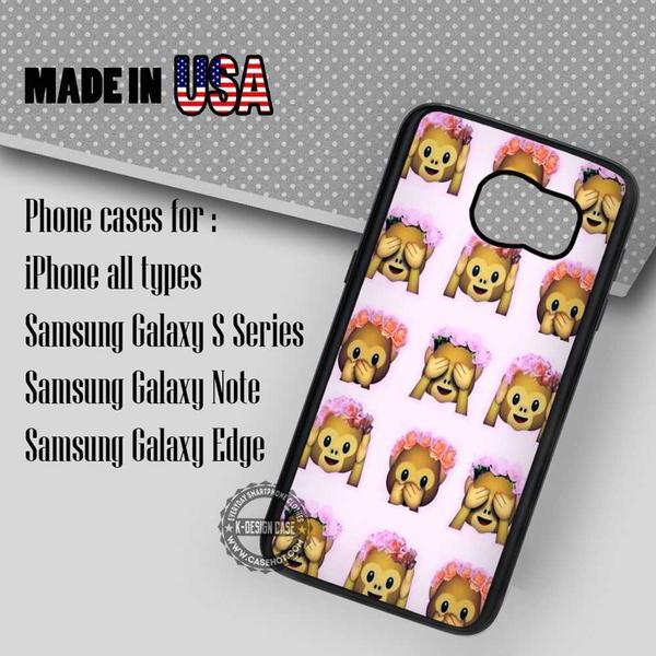 Samsung S7 Case - Alien Emoji Floral- iPhone Case #SamsungS7Case #art #yn