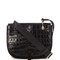 Zoe crocodile-embossed leather cross-body bag