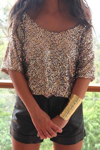 shirt sequins sequin shirt blouse