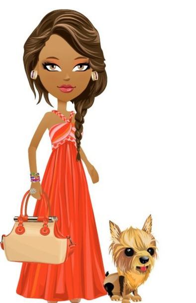 dress cute maxi dress long dress sleeveless peach dress peach sexy fabulous