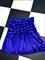 Sweet lord o'mighty! velvet tennis skirt in royal
