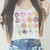 Donut perf crop top - Fresh-tops.com