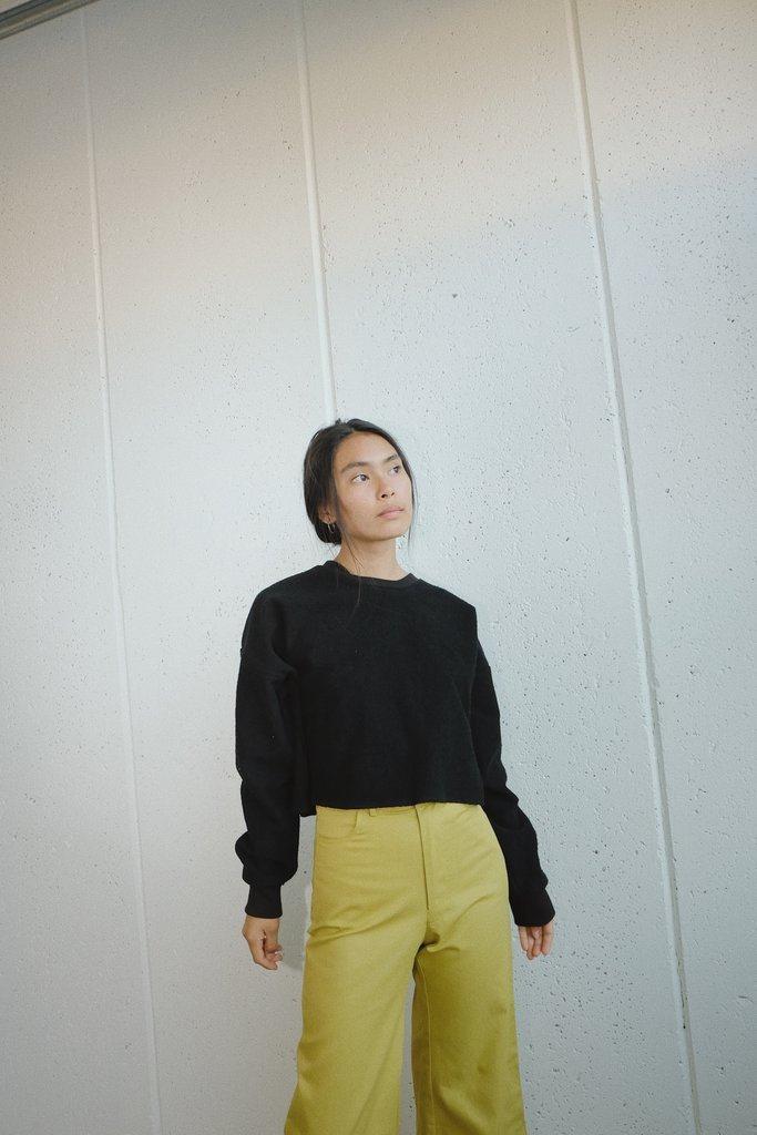 santi sweater in negra