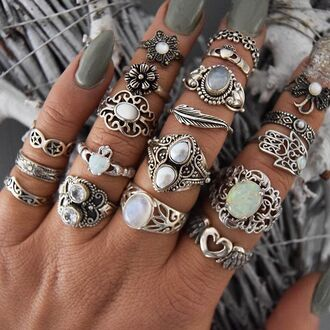 jewels cherry diva boho knuckle ring ring sterling silver rings silver silver ring silver jewelry silver necklace boho jewelry