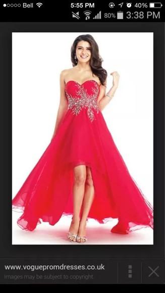 red dress prom dress graduation dress prom dresses /graduation dress .party dress