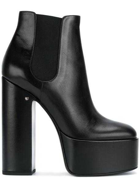 LAURENCE DACADE heel high heel high women heel boots leather black shoes