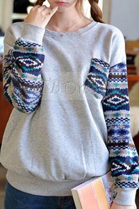 sweater aztec grey aztec sweater grey sweater gray gray sweater aztec print sweater aztec sleeves