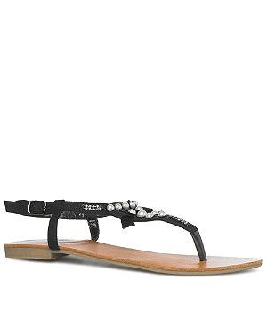 Embellished T-Bar Sandal