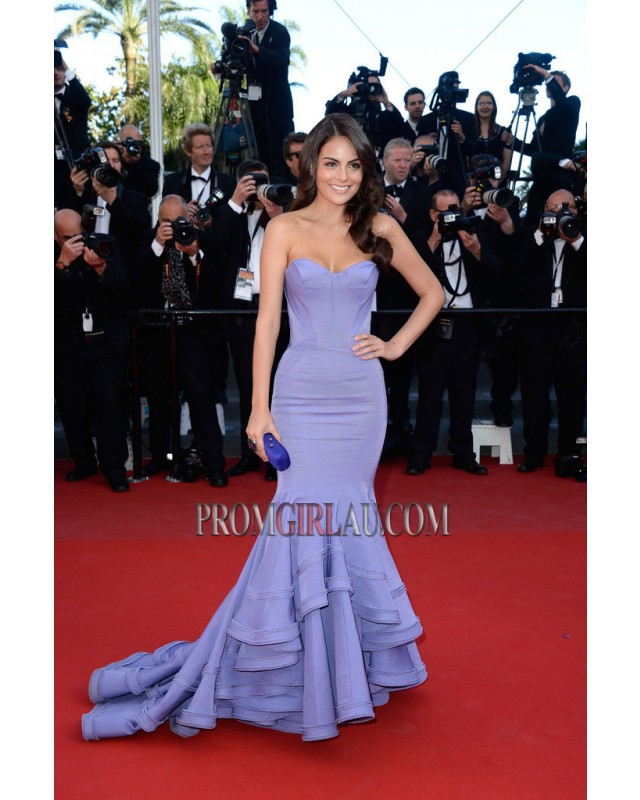 Ximena Navarrete Lavender Formal Dress 2013 Cannes Film Festival PGA4983 - Prom Girl Au