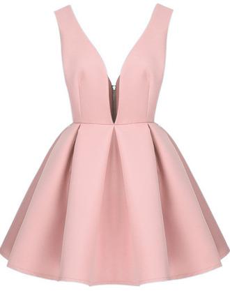 dress cute dress cute pastel pastel pink skater dress pink kawaii