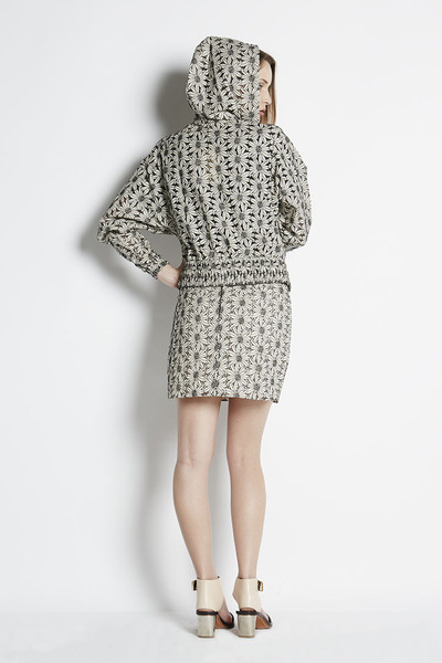 AdelaMei  Embroidered Lace Track Jacket   N/TICE   Adela Mei