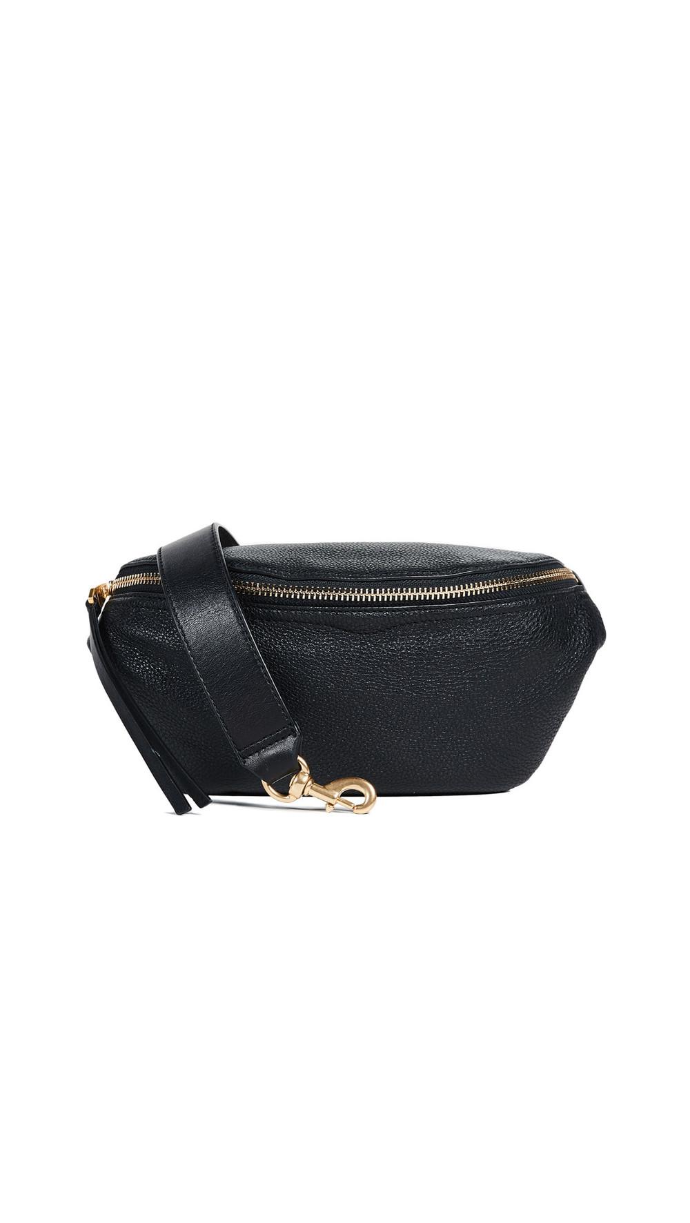 Rebecca Minkoff Bree Belt Bag in black