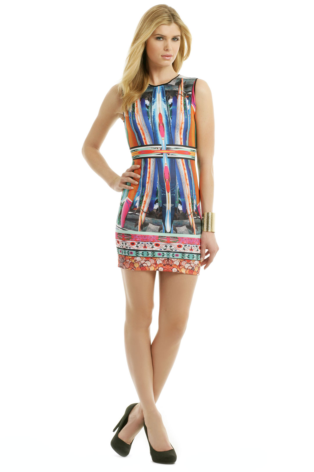 Long Board Dress by Clover Canyon at $48   Rent The Runway