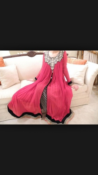 dress kaftan kaftan? pink dress pink style salwar kameez bollywood indian dress