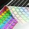 "Rainbow key cover for macbook 13"" 15"" 17"" | ebay"