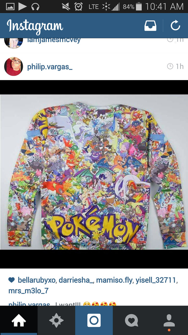 sweatshirt pokemon