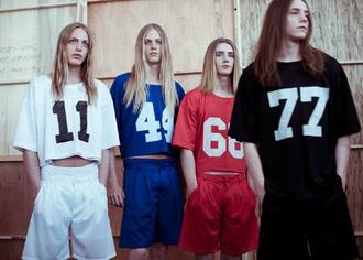 t-shirt black shirt jersey number designer boyish boxing