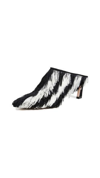 mules cream shoes