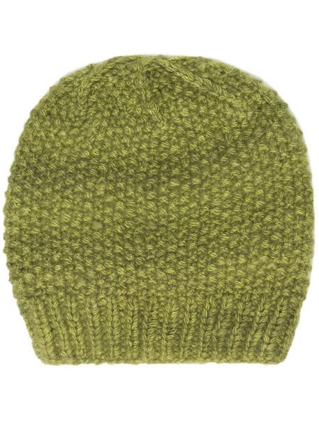The Elder Statesman cashmere beanie - Green