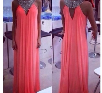 dress long evening high neck line fitting smooth need tjis