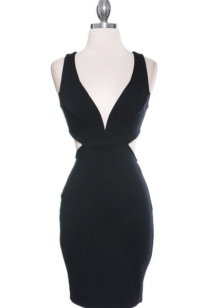 Black open back cutout dress · trendyish · online store powered by storenvy