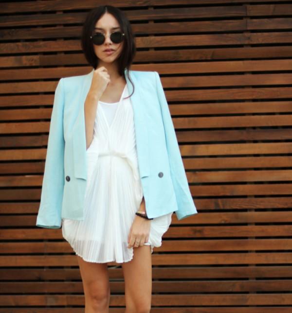 white dress dress summer dress elegant dress sexy dress streetstyle stylemoi