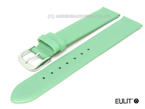 Watch band Lorica 20mm mint green EULIT