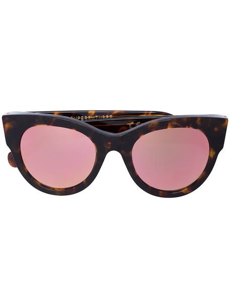RETROSUPERFUTURE women sunglasses brown