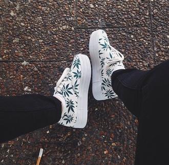 shoes platform shoes weed shoes weed flatforms sneakers platform sneakers