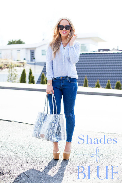 cath in the city shirt jeans bag shoes sunglasses