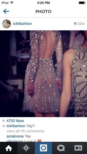 dress beautiful short party dresses glitter short open back