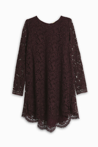 tunic high lace top