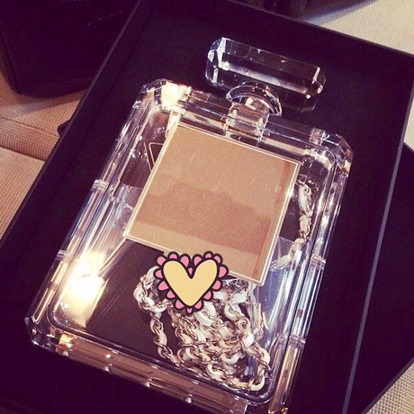 Alu perfume bottle transparent messenger bag shoulder bag on Aliexpress.com