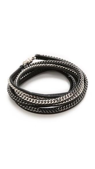 silver black jewels