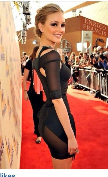 leighton meester blair waldorf leighton meester dress little black dress