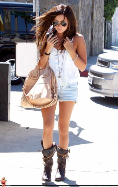 bag nude gold sequins sunglasses summer outfits denim shorts shorts jewels shoes