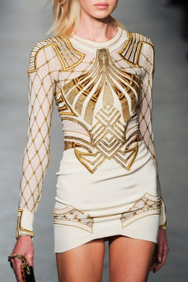 white dress long sleeve dress dress sequin dress