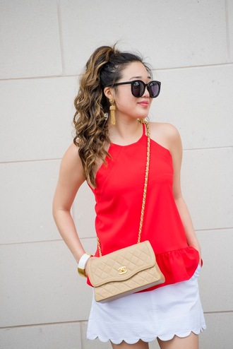 gracefullee made blogger top jewels bag shoes sunglasses