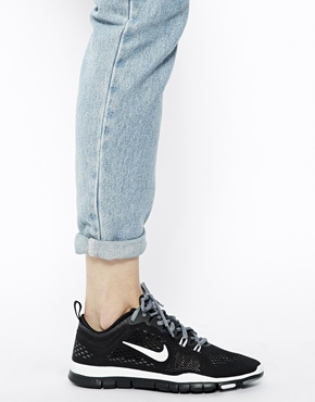 Nike | Nike Free 5.0 Tr Fit 4 Breathe Black Trainers at ASOS