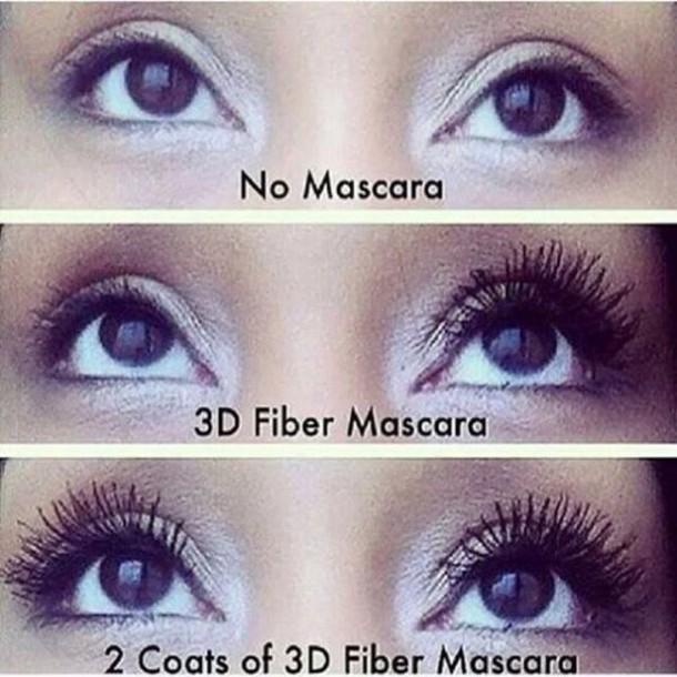 make-up 3d fiberlash mascara