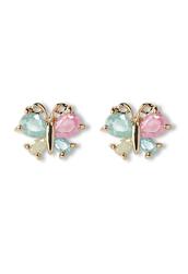 jewels,delicate,butterfly,beaded,earrings